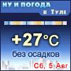 Ну и погода в Туле - Поминутный прогноз погоды